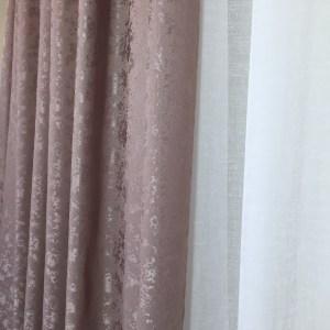 Material draperie roz prafuit