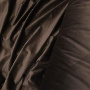 Catifea draperie maro