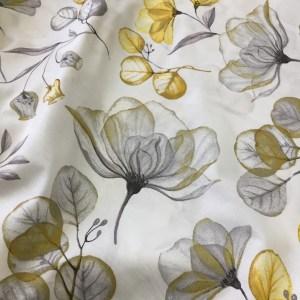 Bumbac ranforce imprimeu floral