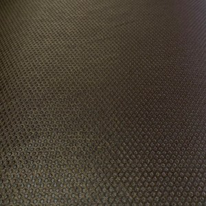 Material draperie blackout maro