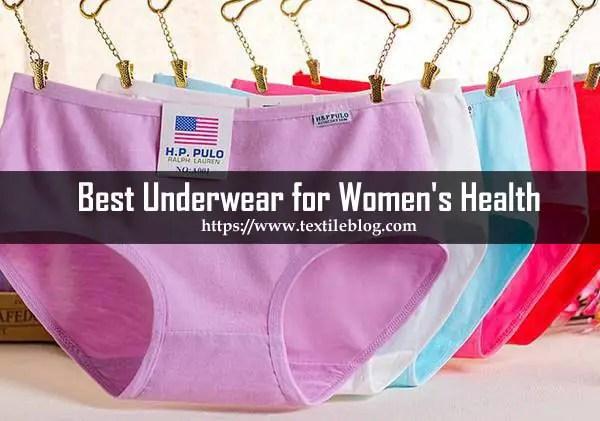 Underwear for Women's Health