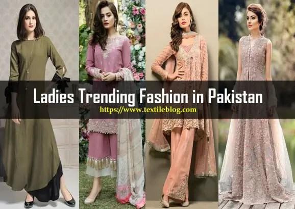Pakistani Ladies Trending Fashion