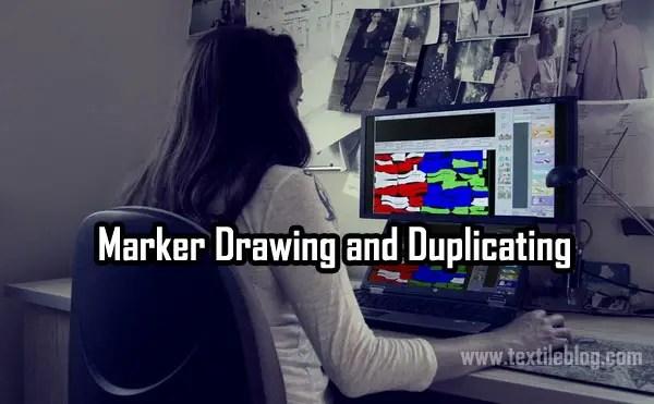 Marker Drawing and Duplicating