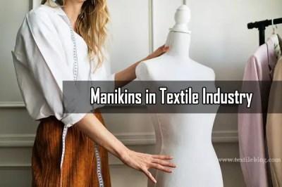 manikins in textile