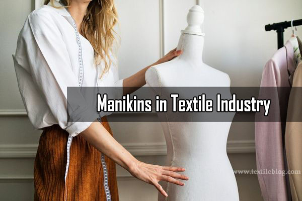 manikins in textile