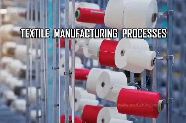 textile manufacturing process