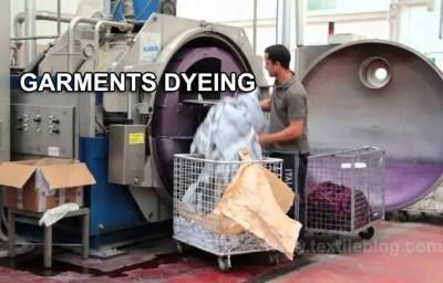 garments dyeing machine