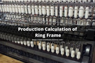Production Calculation of Ring Frame