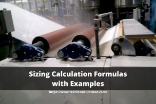 Sizing Calculation Formulas with Examples