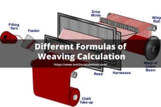 Different Formulas of Weaving Calculation