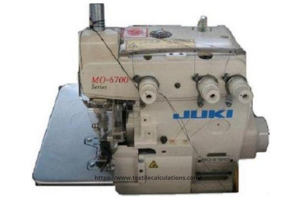 3-Thread Overlock Sewing Machine