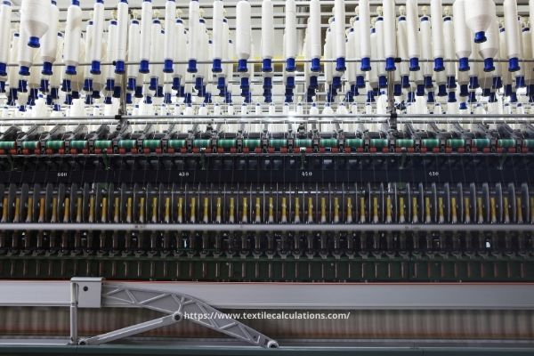 Calculate Yarn Production in Spinning Mill