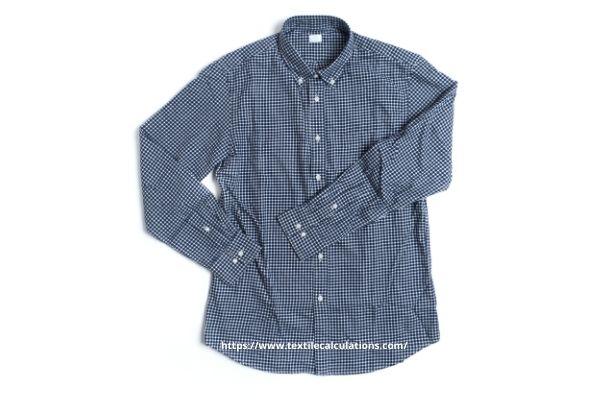 a long sleeve woven shirt