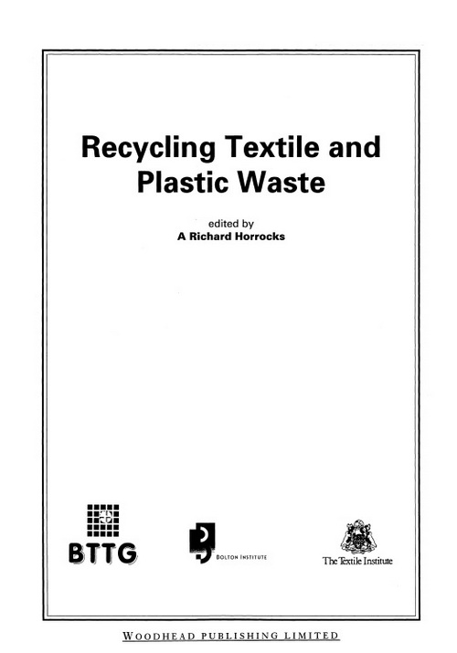 Recycling Textile and Plastic Wastes