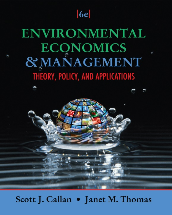 Environmental Economics and Management_ Theory, Policy, and Applications