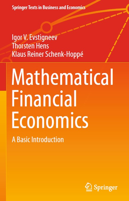 Mathematical Financial Economics A Basic Introduction
