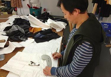 Flow Chart of Garment Sample Making