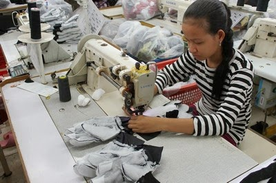 Sewing Department in Garment Industry