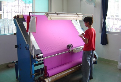 Final Quality Inspection in Textile Industry