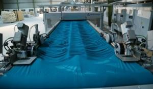 Fabric finishing process