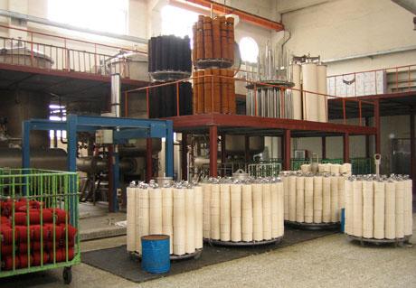 Yarn dyeing process