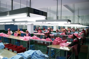 Finishing Layout in Garment Factory