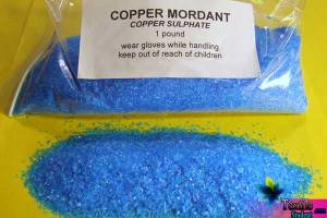 Classification & description with trade name of Mordant dyes and methods of mordant dyeing.