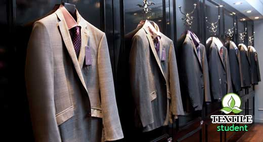 Distinguish between tailoring and garments industrial manufacturing process.