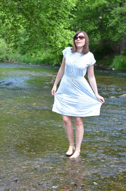 Schnittmuster Kleid: Federleicht Basisschnitt Sommerkleid - Bild 10