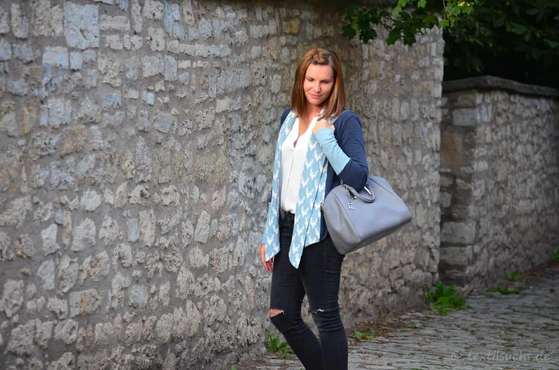 Eine Alegra Strickjacke für kühle Sommerabende - Bild 2 | textilsucht.de
