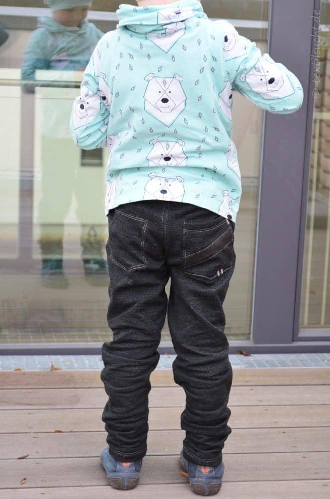 Schnittmuster Kinderhose Steppo aus Wollsweat - Bild 11 | textilsucht.de