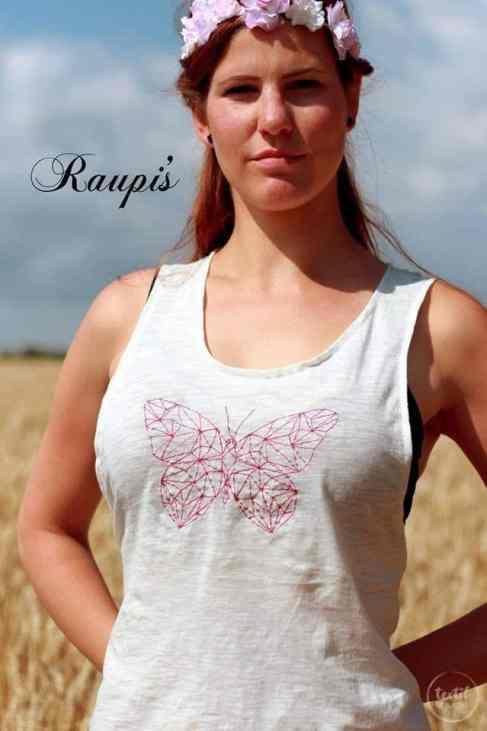 Schnittmuster Beachshirt von textilsucht.de