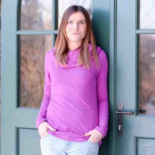 Schnittmuster Kragen Shirt Anjuta - inkl. Nähanleitung