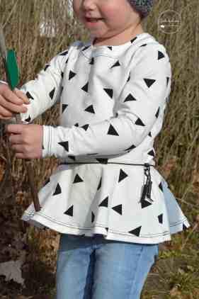 Designbeispiele Schnittmuster Shirt Nastja