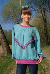 Schnittmuster Sweater India