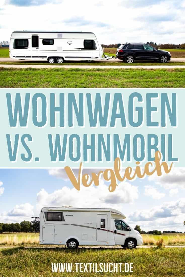 Wohnwagen gegen Wohnmobil – Vergleich