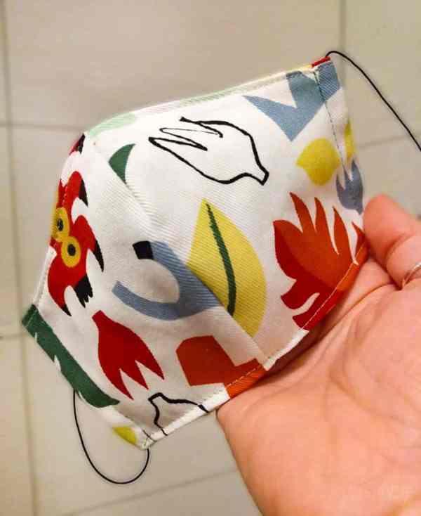 kostenloses Schnittmuster Atemschutzmaske