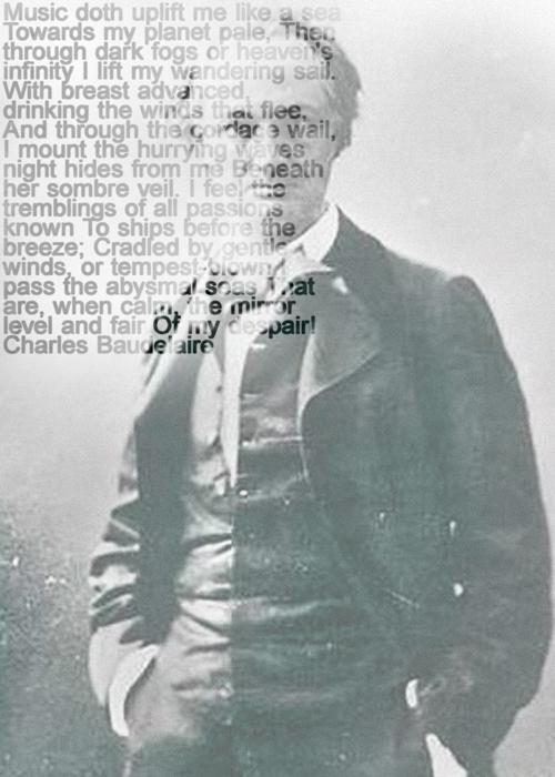 Charles Baudelaire, Ralph Ueltzhoeffer Textportrait