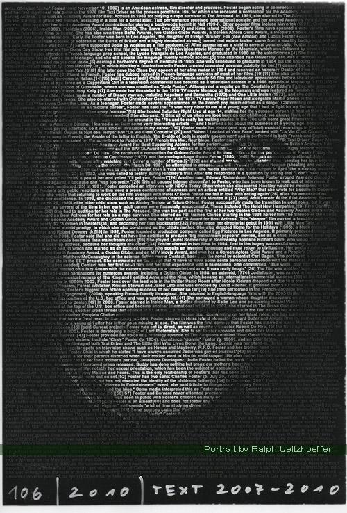 Jodie Foster, Ralph Ueltzhoeffer Textportrait