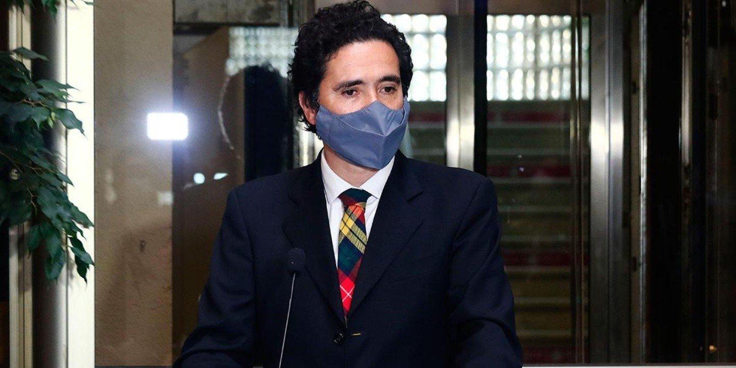 Ignacio Briones se refiere al reajuste del Salarío Mínimo | Foto: Agencia Uno