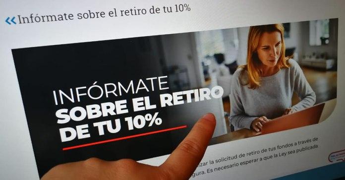 Tercer Retiro de 10% de las AFP