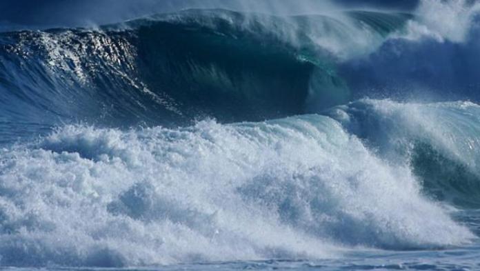 Alerta de marejadas en las costas del país.