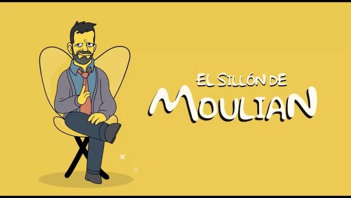 Diego Ancalao fue el invitado del episodio 42 de El Sillón de Moulian