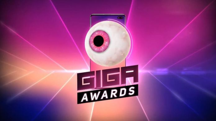 Giga Awards animados por un dupla especial con presentaciones asombrosas