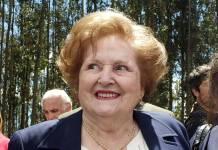 Lucía Hiriart fue internada en el Hospital Militar