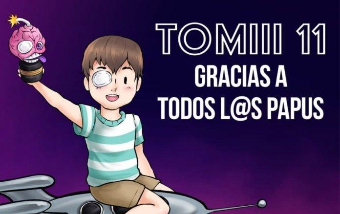 Seguidores del youtuber chileno y famosos youtubers dedican palabras a Tomiii 11