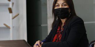 """Elisa Loncon pidió respeto para la situación de Rodrigo Rojas, """"Pelao"""" Vade."""
