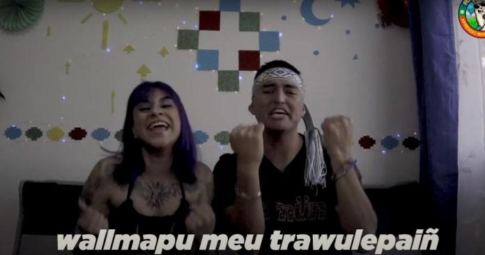 Flor de Rap junto a Luanko en el octavo capítulo de Rapeando aprendo mapudungun