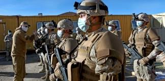 Fuerzas Armadas fiscalizaciones