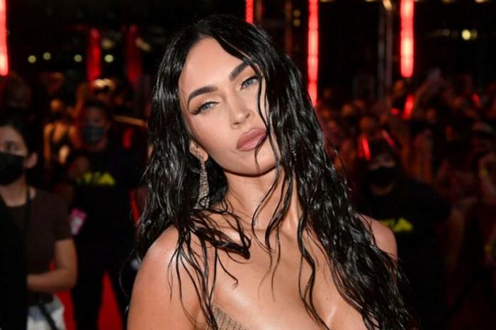 Megan Fox acaparó miradas y fotos en los MTV VMAs